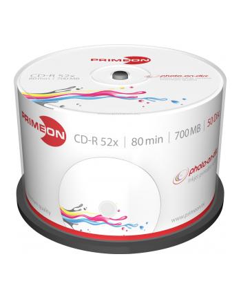 PRIMEON CD-R 700 MB 52x, CD-R - 50 sztuk - 2761105