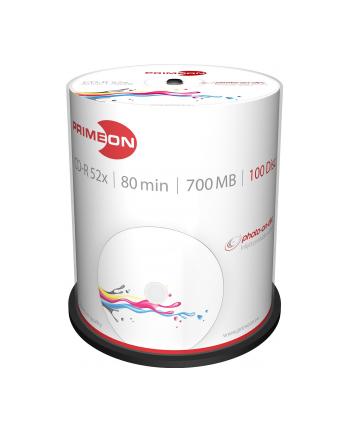 PRIMEON CD-R 700 MB 52x, CD-R - 100 sztuk - 2761106