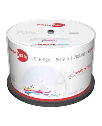 PRIMEON CD-R 700 MB 52x, CD-R - 50 sztuk - 2761109