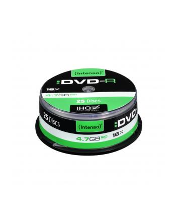 DVD-R 16x CB 4,7GB Intenso 25 sztuk