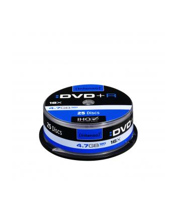 DVD+R 16x CB 4,7GB Intenso 25 sztuk