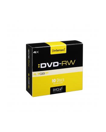 DVD-RW 4x SC 4,7GB Intenso 10 sztuk