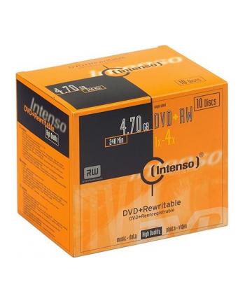 DVD+RW 4x SC 4,7GB Intenso 10 sztuk