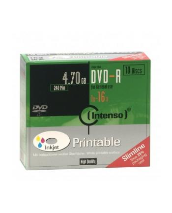 DVD-R 16x SC 4,7GB Intenso Pr. 10 sztuk