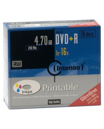 DVD+R 16x SC 4,7GB Intenso Pr. 10 sztuk