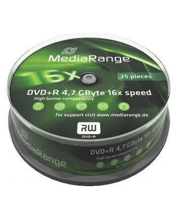 DVD+R 16x SP 4,7GB MediaR. 25 sztuk