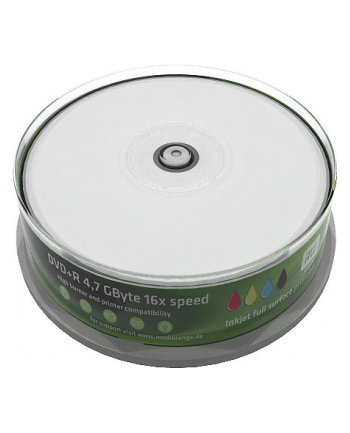 DVD+R 16x SP 4,7GB MediaR. Pr. 25 sztuk