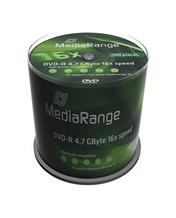 DVD-R 16x CB 4,7GB MediaR 100 sztuk