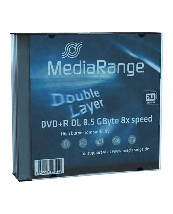 DVD+DL 8x SC 8,5GB MediaR 5 sztuk