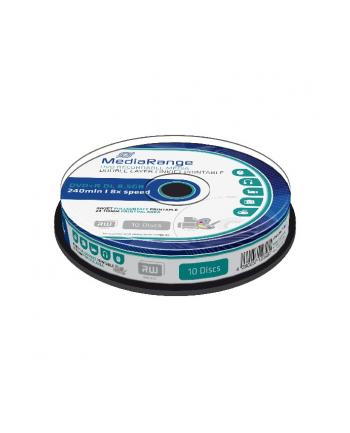 DVD+DL 8X CB 8,5GB MediaR Pr. 10 sztuk