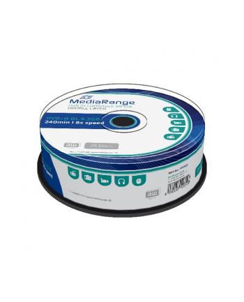 DVD+DL 8x CB 8,5GB MediaR 25 sztuk