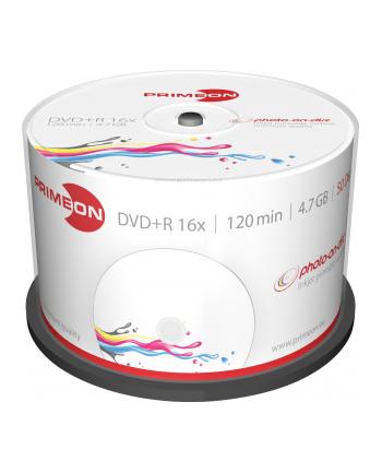 PRIMEON DVD+R 4,7 GB 16x Photo, DVD - 50 sztuk