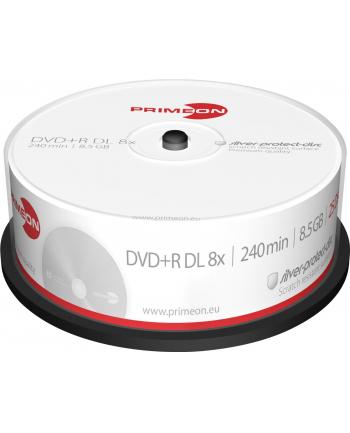 PRIMEON DVD+R DL 8,5 GB 8x, DVD - 25 sztuk