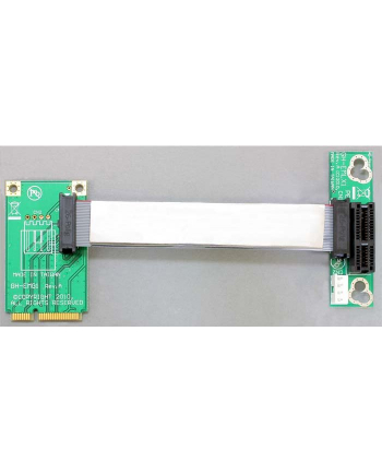 Delock Riser Card PCIe X1 elastyczny - 13cm Kabel / Links