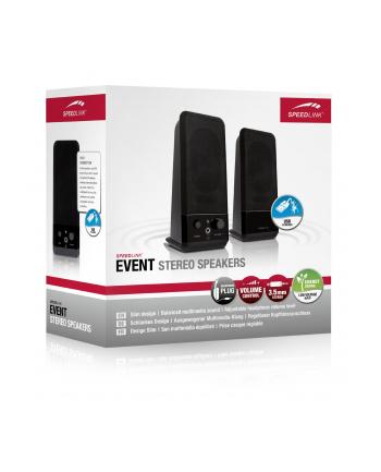 Speedlink EVENT Stereo Speakers black