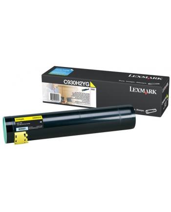 Lexmark Toner żółty C930H2YG