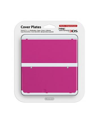 Nintendo New 3DS Cover - różowy