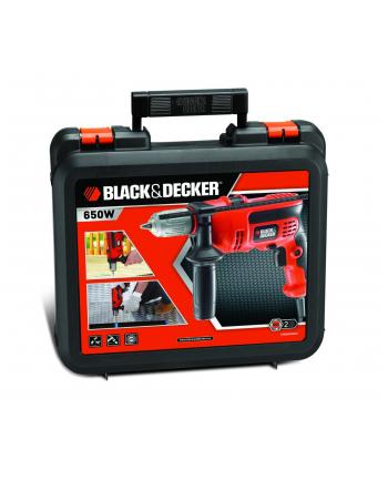 Black+Decker Black&Decker Wiertarka udarowa KR654CRESK orange
