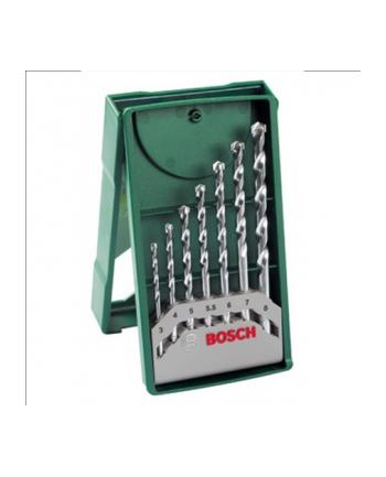 Bosch Mini X-Line Wiertła do betonu - zestaw 7 sztuk
