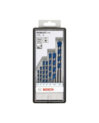 Bosch Wiertła do betonu Set CYL-5 7 sztuk
