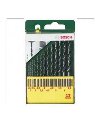 Bosch HSS-R-Wiertła do metalu - zestaw 13 sztuk