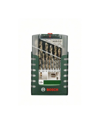 Bosch HSS-Co-Wiertła do metalu - zestaw 19 sztuk