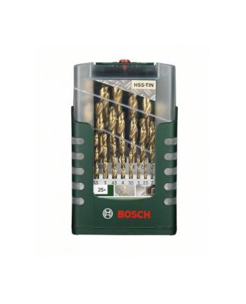Bosch HSS-TiN-Wiertła do metalu - zestaw 19 sztuk
