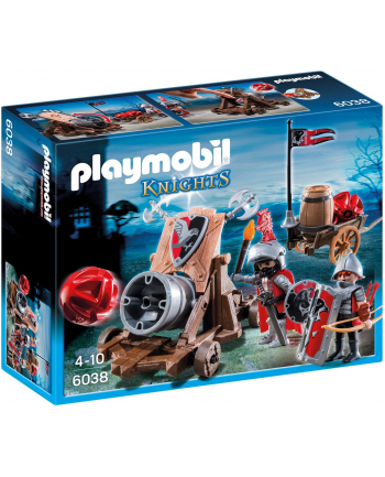 Playmobil Hawk Knights' Battle Cannon Playset Building Kit 6038