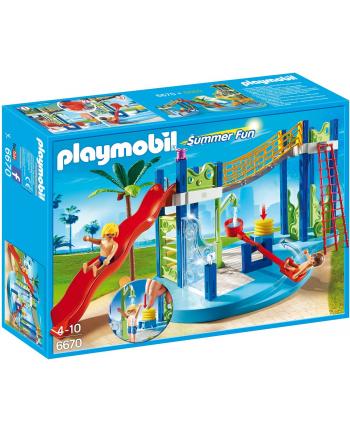 Playmobil Park wodny ze zjeżdżelniami (6670)