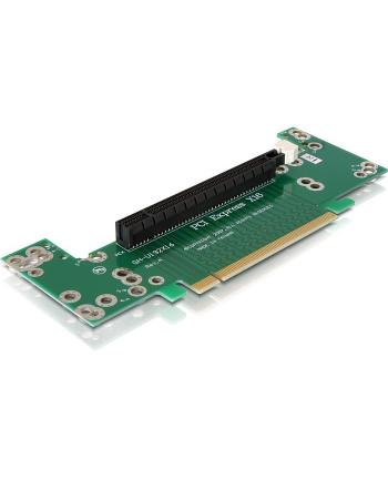 DeLOCK Riser Card PCIe X16 90°l 7cm - kątowy