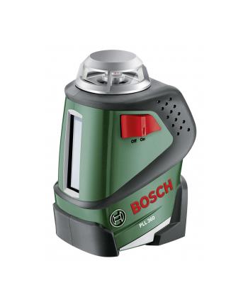 Bosch Laser płaszczyznowy 360 stopni PLL360 green