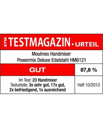 Moulinex Blender ręczny HM 6121 500W biały - Powermix Deluxe