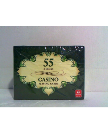 CARTAMUNDI Karty Casino 2 x 55 l.