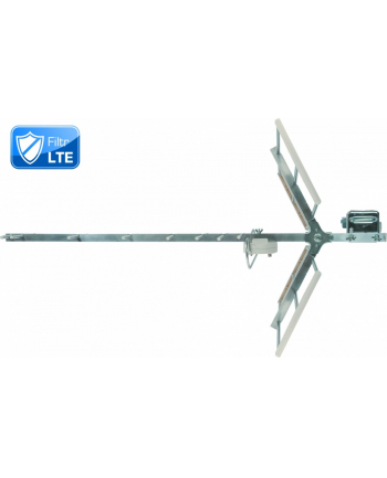 TechniYagi HDT-p LTE /antena kierunkowa DVB-T, pasywna, filtr LTE/