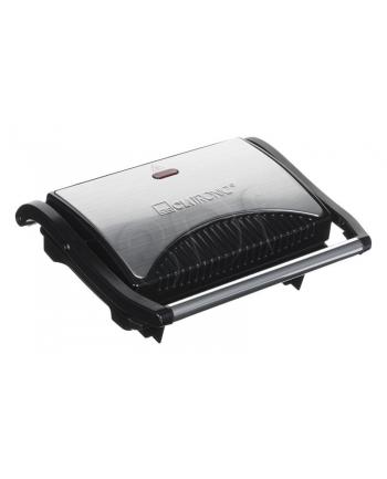 Grill elektryczny Clatronic MG 3519 (700W stołowy-zamykany  czarno-srebrny)