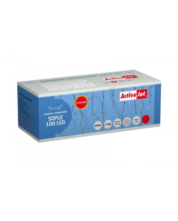 SOPLE 100LED AJE-ICE100/2 3M/RED/BLINK łącz. Sterow