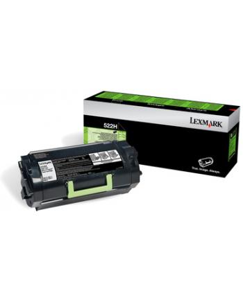 Kaseta z tonerem Lexmark 522HE do MS-810 | korporacyjny | 25 000 str. | black