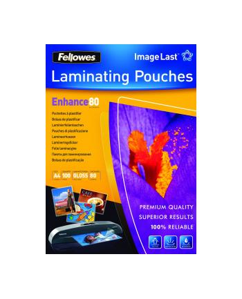 Fellowes folie do laminowania błyszczące | A4 | 80 mic | 100 szt.
