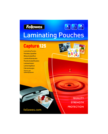 Fellowes folie do laminowania | 125 mic | 83x113mm | 100szt.