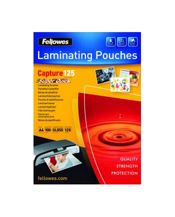 Fellowes folie do laminowania SUPER QUICK   A4   125 mic   216x303mm   100szt.