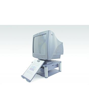 Fellowes podstawa pod monitor z szufladą i copyholderem, grafitowa