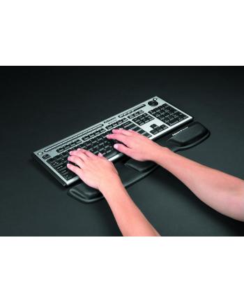 Fellowes seria FABRIC - podkładka Health-V przed klawiaturę, czarna