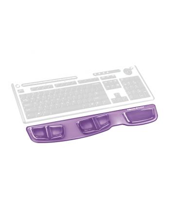 Fellowes seria CRYSTAL - podkładka Health-V przed klawiaturę, fioletowa