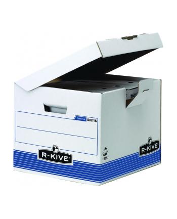 Fellowes R-kive Prima - pudło sześcienne z uchylnym wiekiem - FastFold, op. 10 s