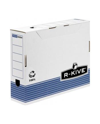Fellowes R-kive Prima - pudełka na akta 80 mm - FastFold, op. 10 szt.