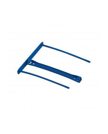 Fellowes klipsy do spinania dokumentów PRO 100mm z rączką | niebieskie | 50szt.