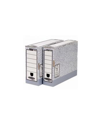 Fellowes Bankers Box System z FSC® - pudełko na akta 80 mm - FastFold, op. 10szt