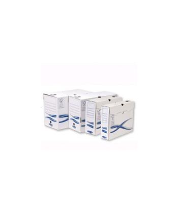Fellowes Bankers Box Basic z FSC®, pudełka na akta 80 mm, op. 25 szt.
