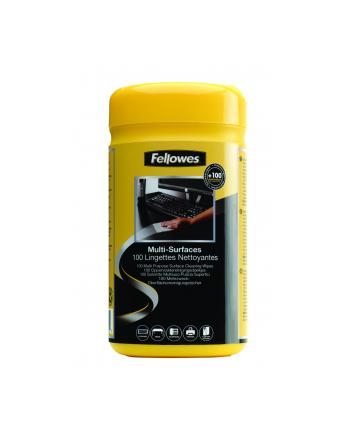Fellowes pojemnik ze ściereczkami do czyszczenia obudów - tuba 100 szt