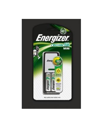 Energizer Ładowarka Mini + Power Plus AA 2 szt